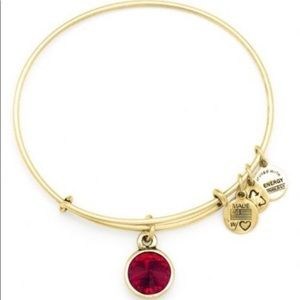 🆕 Alex and Ani Garnet birthstone bracelet